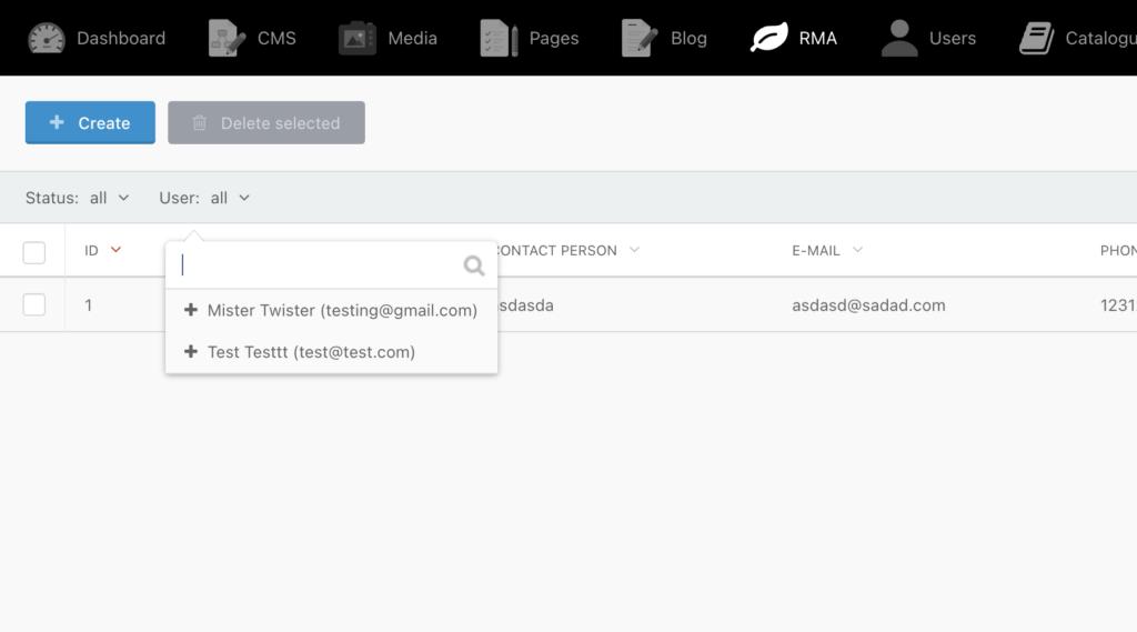 Несколько полей в nameFrom для фильтра в backend в OctoberCMS